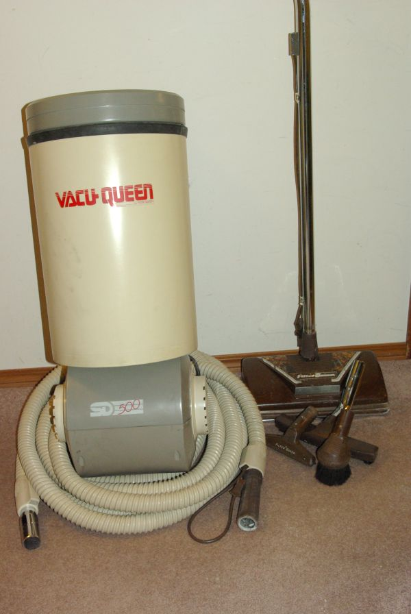 Filter Queen Vacu Model SD500 Central Vacuum